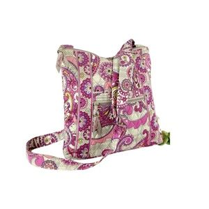 Vera Bradley Hipster Crossbody Paisley Quilted Bag